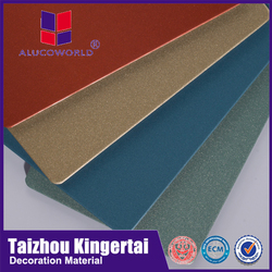 Alucoworld super facility installation aluminum composite building construction materials acm speaker