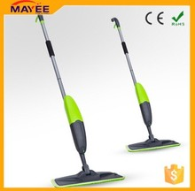 Factory directly wholesale eco-friendly microfibre flat spray mop/360 floor cleaning mops/automatic spray handle type spin mop