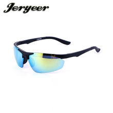 A pcs retail design your own outdoor sports sunglasses pc UV400 protect eyes sport sunglasses