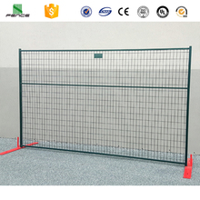 power coated construction site galvanized removable used temporary fence