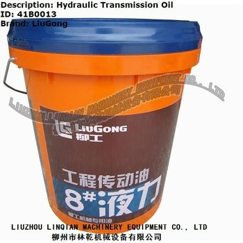 Liugong Parts Hydraulic Transmission 8# Power Oil 18L Construction Machinery Equipment Liugong Wheel Loader Engine Oils 41B0013