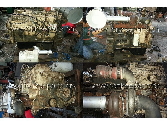 6D114 Complete engine for PC300-7 PC360-7 Used/Original 6D114 Complete engine assy