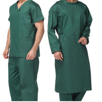 New Designed Hospital Short Sleeved Cotton