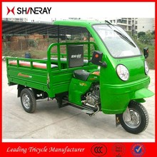 Shineray petrol cargo use Three Wheel Motorcycle With Cabin/ Tricycle Scooter With Roof