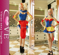 Manufactory made high quanlity New fashion sexy superman suit lingerie