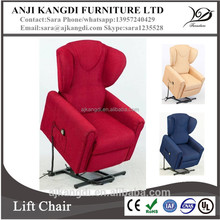 Automatic rise recliner/adjustable portable lift recliner chair