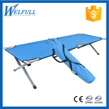 Wholesale Aluminum Steel Folding Camping Cot , Single Cot Bed