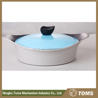 Ceramic wtih lid best quality casserole cookware