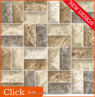 30x30 40x40 Homogeneous Rustic Stone Digtal Flooring Ceramic Tiles Display