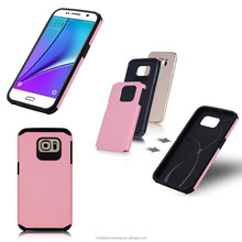 New Design Ultra Thin Multi Color TPU+PC Mobile Phone Case Back Cover For Samsung S7