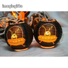 Led Solar Halloween Decoration Outdoor String Light