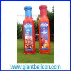PVC Inflatable Ketchup Bottle