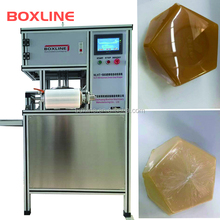 Hotel soap automatic stretch cling film wrapping machine