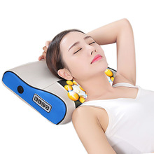 Massage pillow 3d shiatsu, high quality beauty massage pillow Shiatsu with heating ball