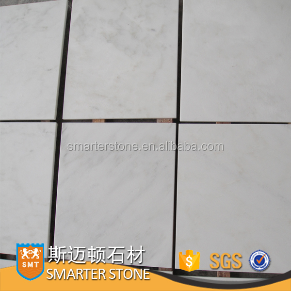 marble stone China Statuario marble tiles for indoor flooring