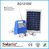 Energy saving high power 10w portable mini solar system with mobile charger and usb output