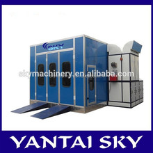 China supplier New Commercial Down draft Truck Spray Booths for sale Customize possible