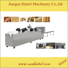 peanut brittle Cereal Bar Forming And Cutting Machine puffed rice