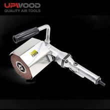 UPWOOD UW-3751 burnishing and wire drawing polishing air drum sander with restorer abrasive wire wheel brush