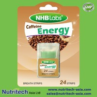 Fresh Breath Energy Caffeine Mint Oral