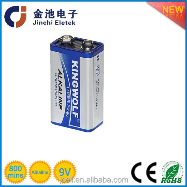 China manufacturer High quality China wholesale Alkaline batteries 6LR61 9V Blister Card
