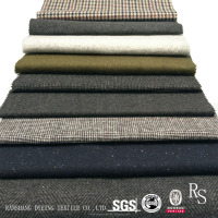 Woolen Garment Fabric Twill Jacquard Plaid