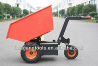 Electric Agricultural Dump Tractor For Material Handling