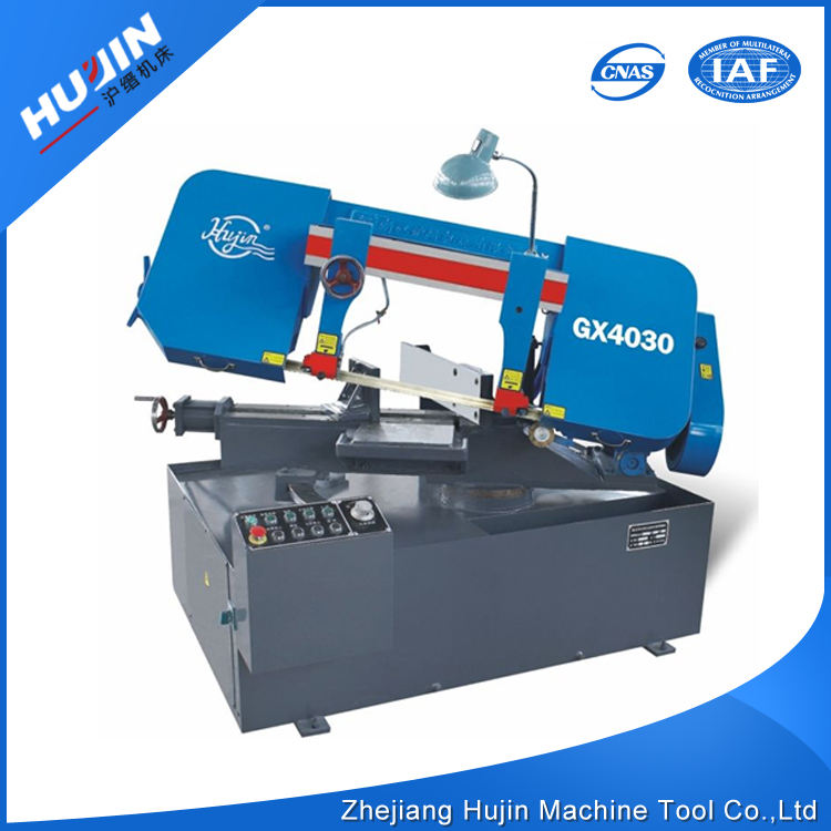 China Made 2.2KW Semi Automatic Industrial Sewing Band Sawing Machine for Metal Used
