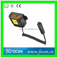 CE certification Auto/Car charger cigarette lighter adapter