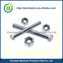 Custom aluminum screw plus aluminum screw cap BCS 068
