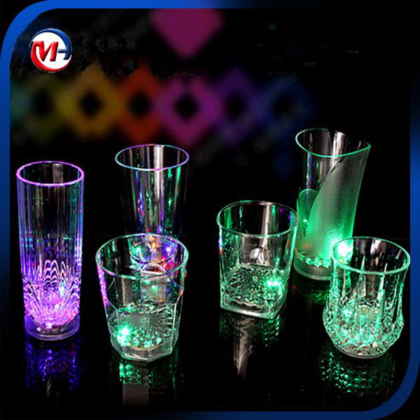 Water induction light beer /led glow cups /beer cup