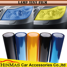 PVC Material Car Headlight Decorative Light Black Car Laminating Film