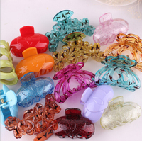 The new fashion 2016 manufacturers wholesale pure color medium hair claw
