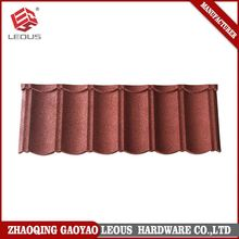 Top sale for aluminium metal roofing,colorful sand stone coated metal roof tile,colorful stone roof tile