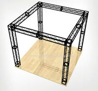 10ft 20ft design customized aluminum framed outdoor exhibition truss booth