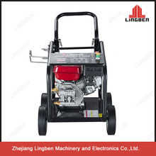 Lingben Petrol High Pressure Washer 180bar 6.5HP Pumps With Wheels LB-180C