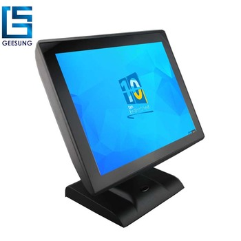 15  inch cheap PACP touch screen pos system/cash register machine