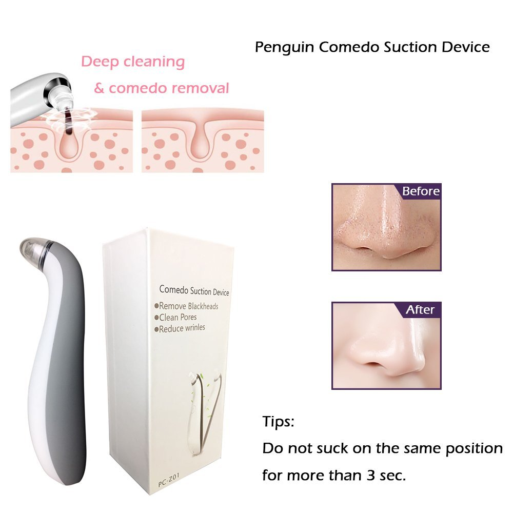 Facial Comedo Suction Beauty Device Professional Blackhead Removal Machine