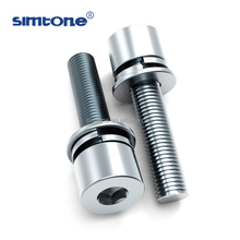 DIN912 8.8 grade metric chrome steel Hex socket head cap bolt machine screw china manufacturer