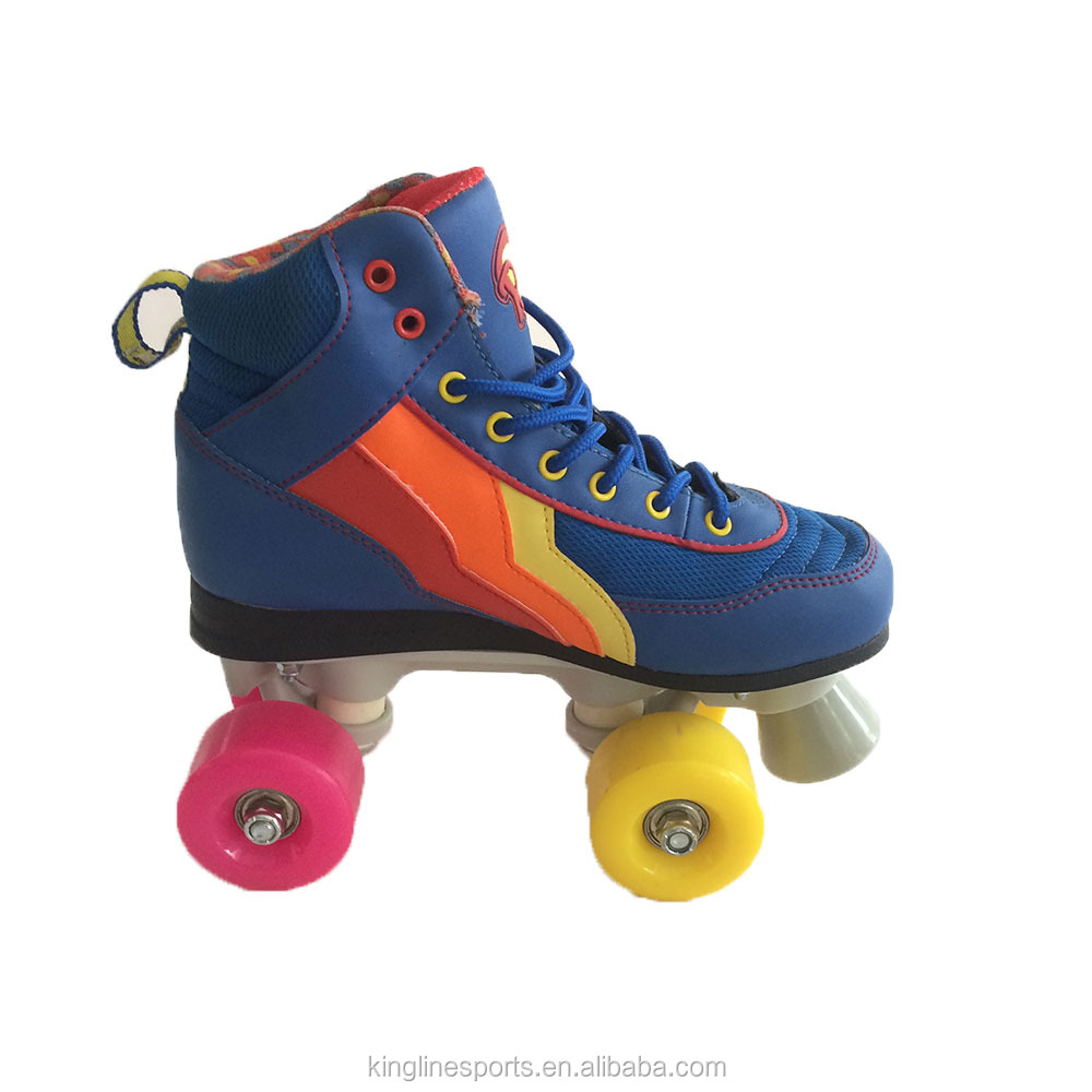 King Line Wholesale New Style Quad Roller Skate Shoes For Adults and Children