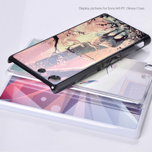 New Best Selling Luxury Metal Finishes PC Cellphone Case Back Cover for Sony M5 Wholesale Mobile Phone Accessory