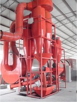 Cyclone silo bag filters for dust collector
