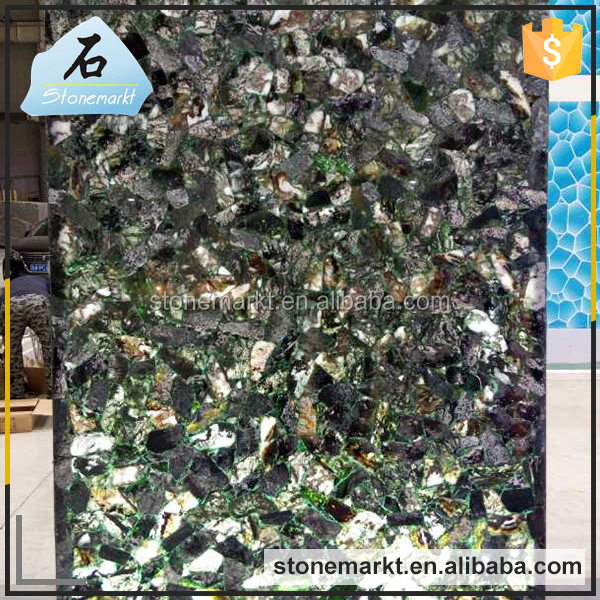 China wholesale polished semi precious stone slab