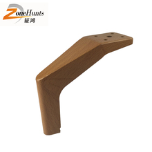 Foshan factory cheap hot sale modern unfinished cabriole wood furniture legs