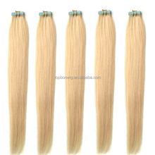 Virgin remy Brazilian hair 10-30 inch 613 color tape in hair extensions