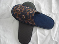 print hotel bedroom cloth slipper