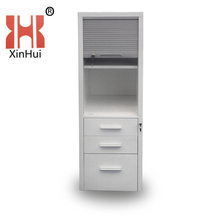 Latest Tall Tambour 3 Drawer Metal File Cabinet