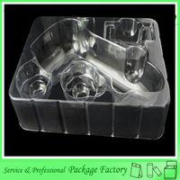Customized plastic clear pvc blister tray for toy gun