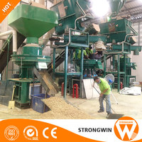 Hot sale CE approved automatic wood pellet making machine price