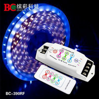 Bincolor 3CH wireless touch type rf led rgb controller 12v 24v RGB tape